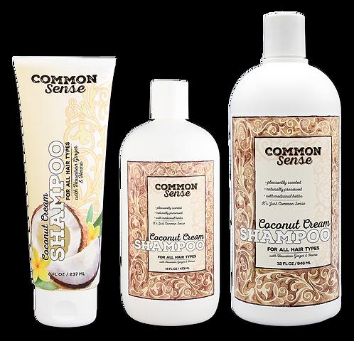 Coconut Cream Shampoo