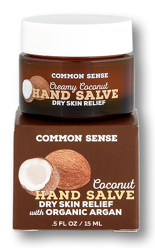 Coconut Hand Salve- 0.5 fl. oz
