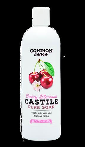 Cherry Blossom Castile Soap- 16 oz