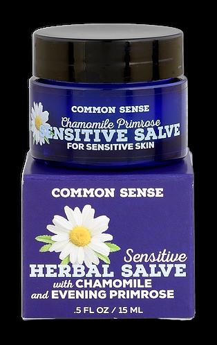 Sensitive Herbal Salve- 0.5 fl. oz