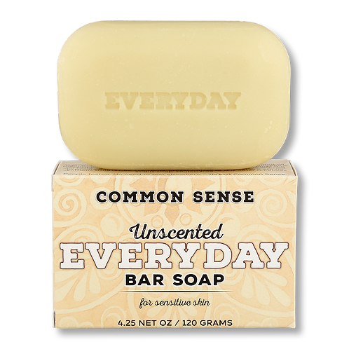 Everyday Unscented Bar Soap