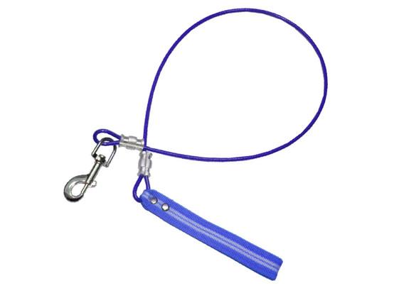 Correa de cable azul
