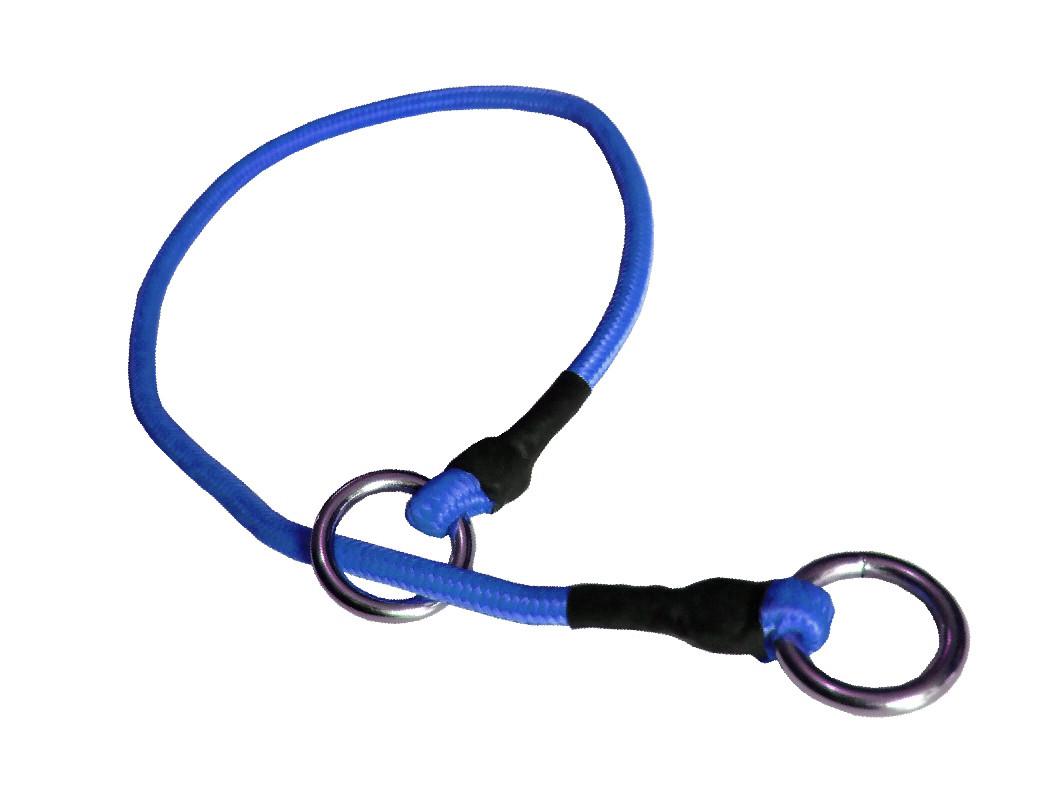 Collar de castigo alpinista delgado azul