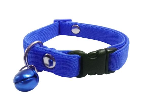 Collar elástico gato azul