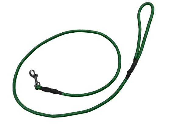 Correa alpinista delgada verde oscuro