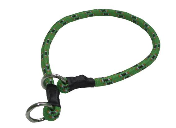 Collar de castigo alpinista grueso verde oscuro