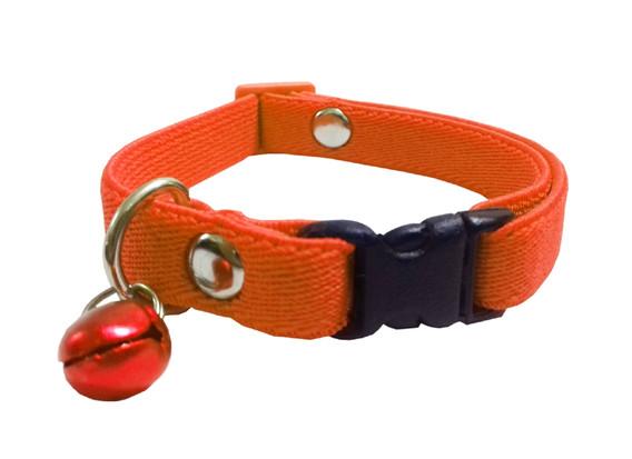 Collar elástico gato naranja