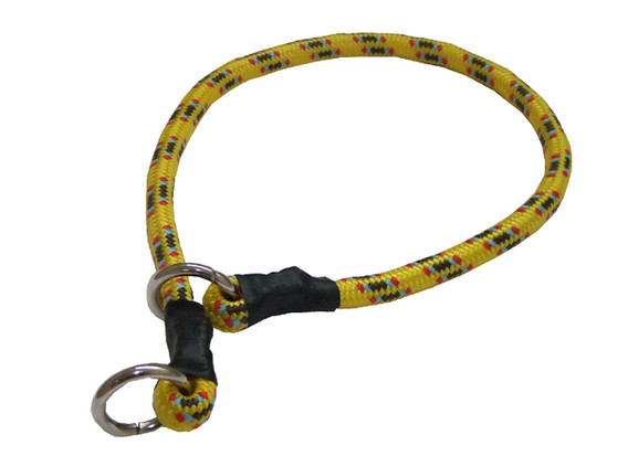 Collar de castigo alpinista grueso amarillo