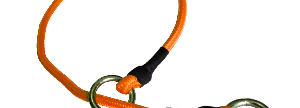 Collar de castigo alpinista delgado naranja