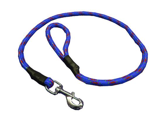 Correa de alpinista azul