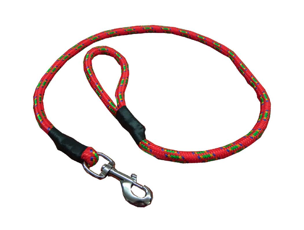 Correa de alpinista rojo