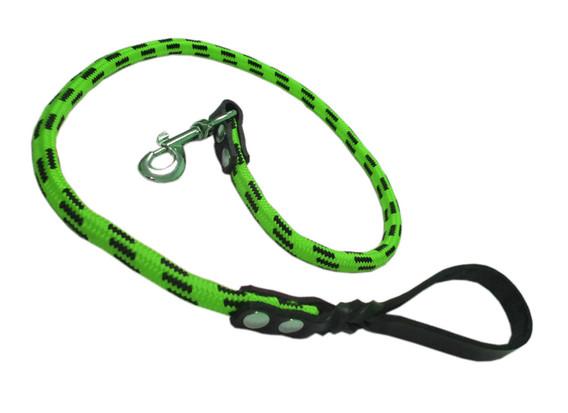 Correa alpinista piel verde