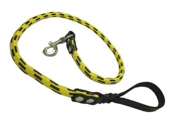 Correa alpinista piel amarilla