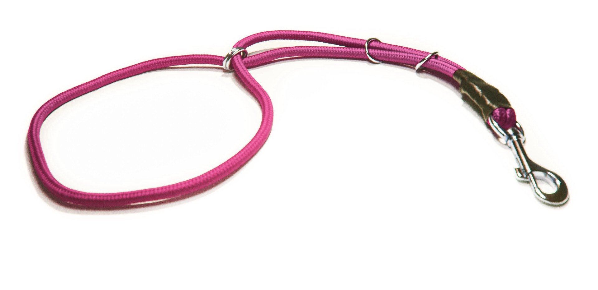 Collar estética rosa
