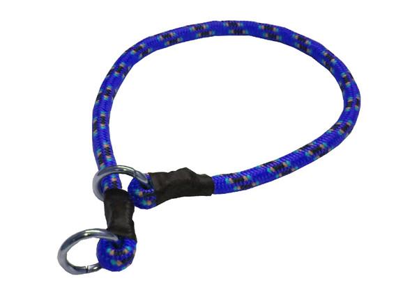Collar de castigo alpinista grueso azul