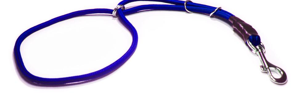 Collar estética azul