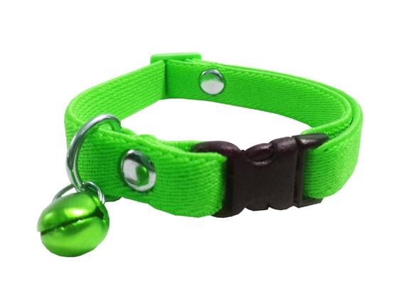 Collar elástico gato verde