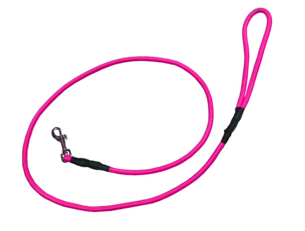 Correa alpinista delgada rosa
