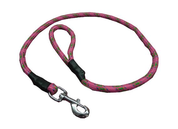 Correa de alpinista rosa