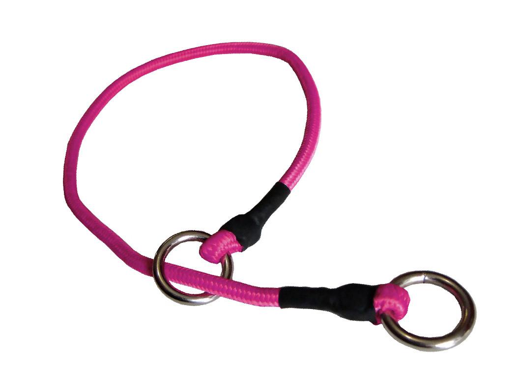 Collar de castigo alpinista delgado rosa
