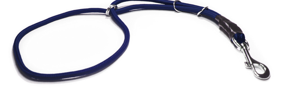 Collar estética azul fuerte