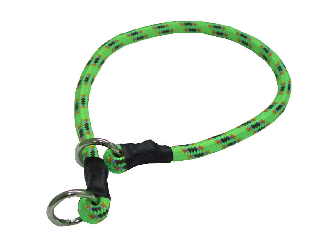 Collar de castigo alpinista grueso verde