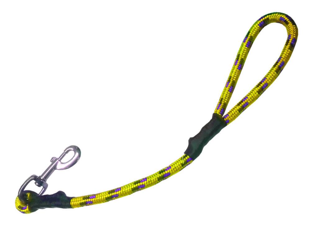 Maniqueta alpinista amarilla