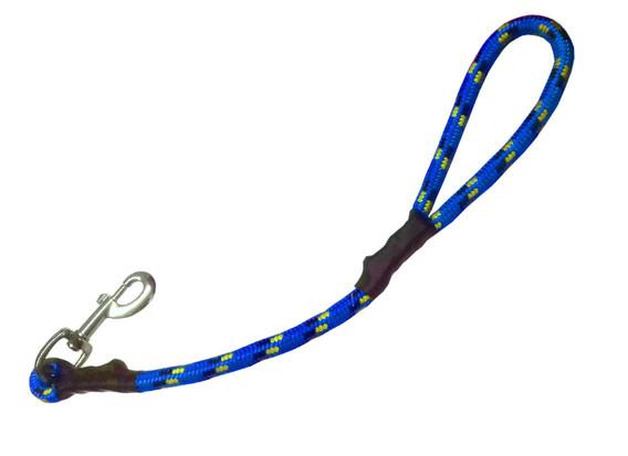 Maniqueta alpinista azul
