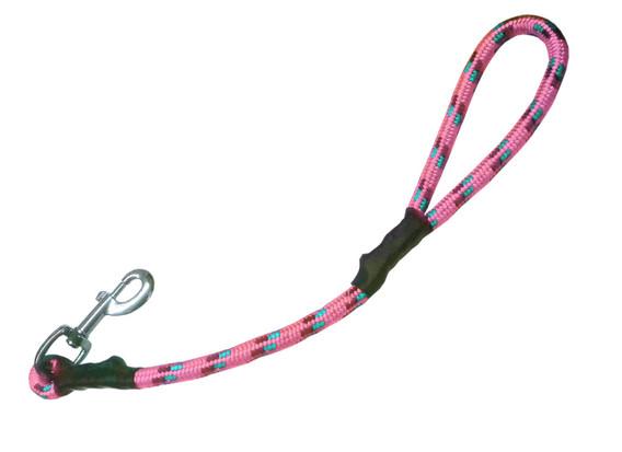 Maniqueta alpinista rosa pastel