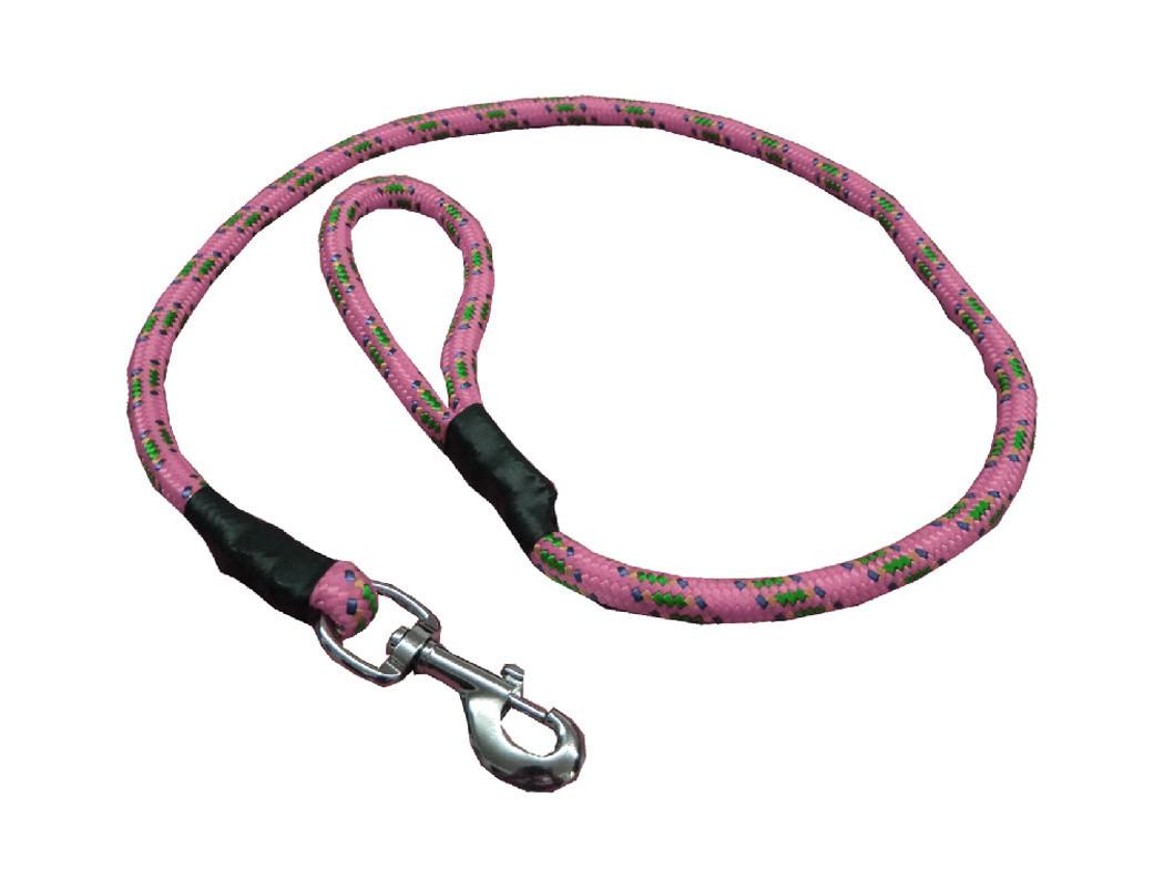 Correa de alpinista rosa pastel
