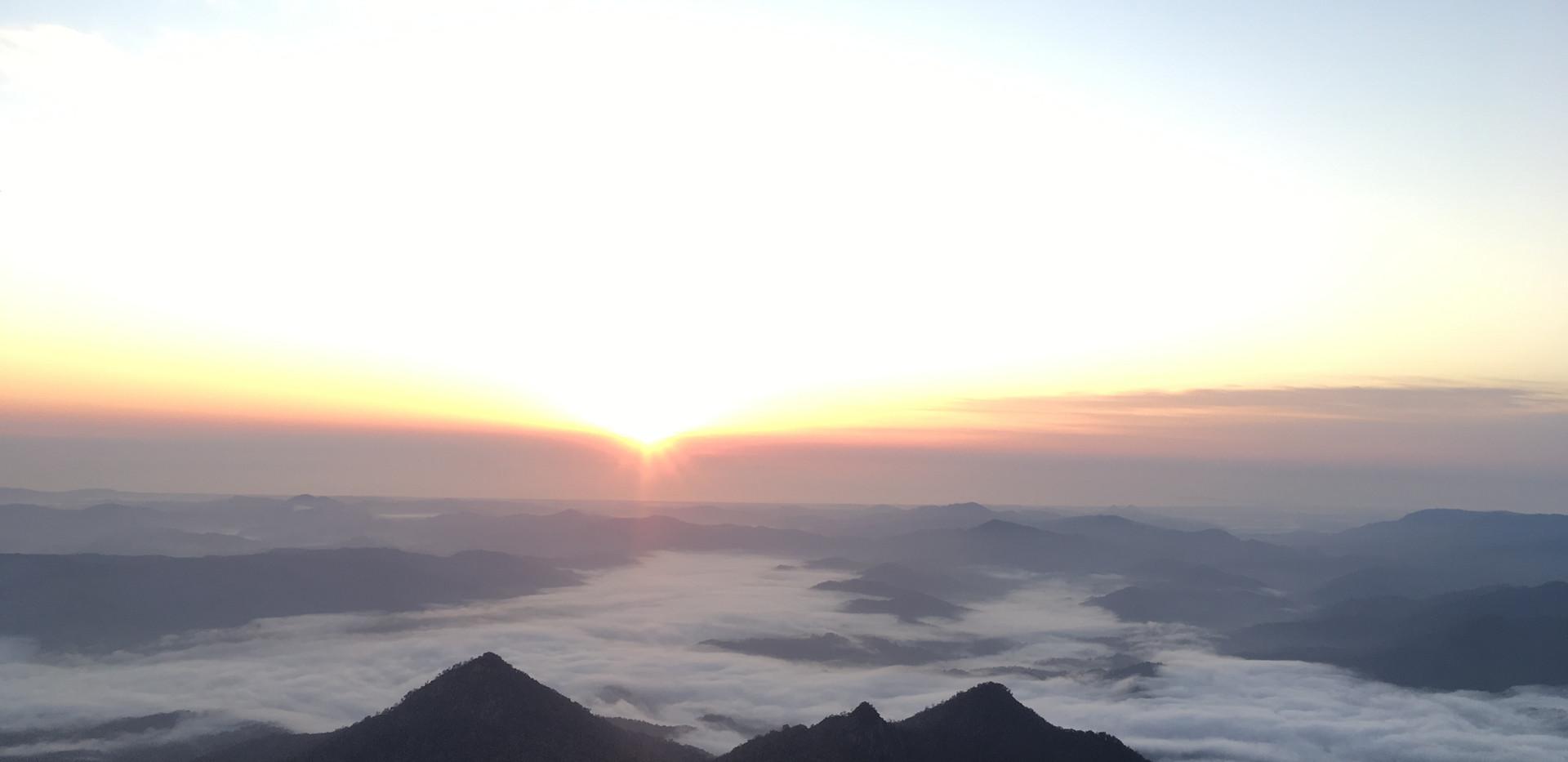 Getting the sunrise