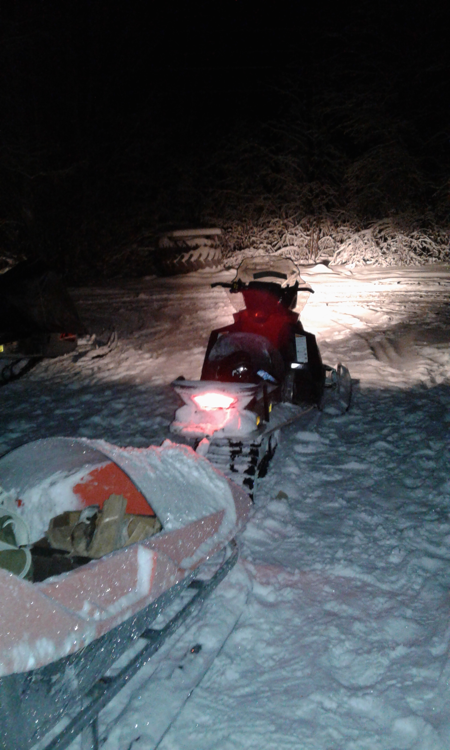Snowmobiling Rovaniemi