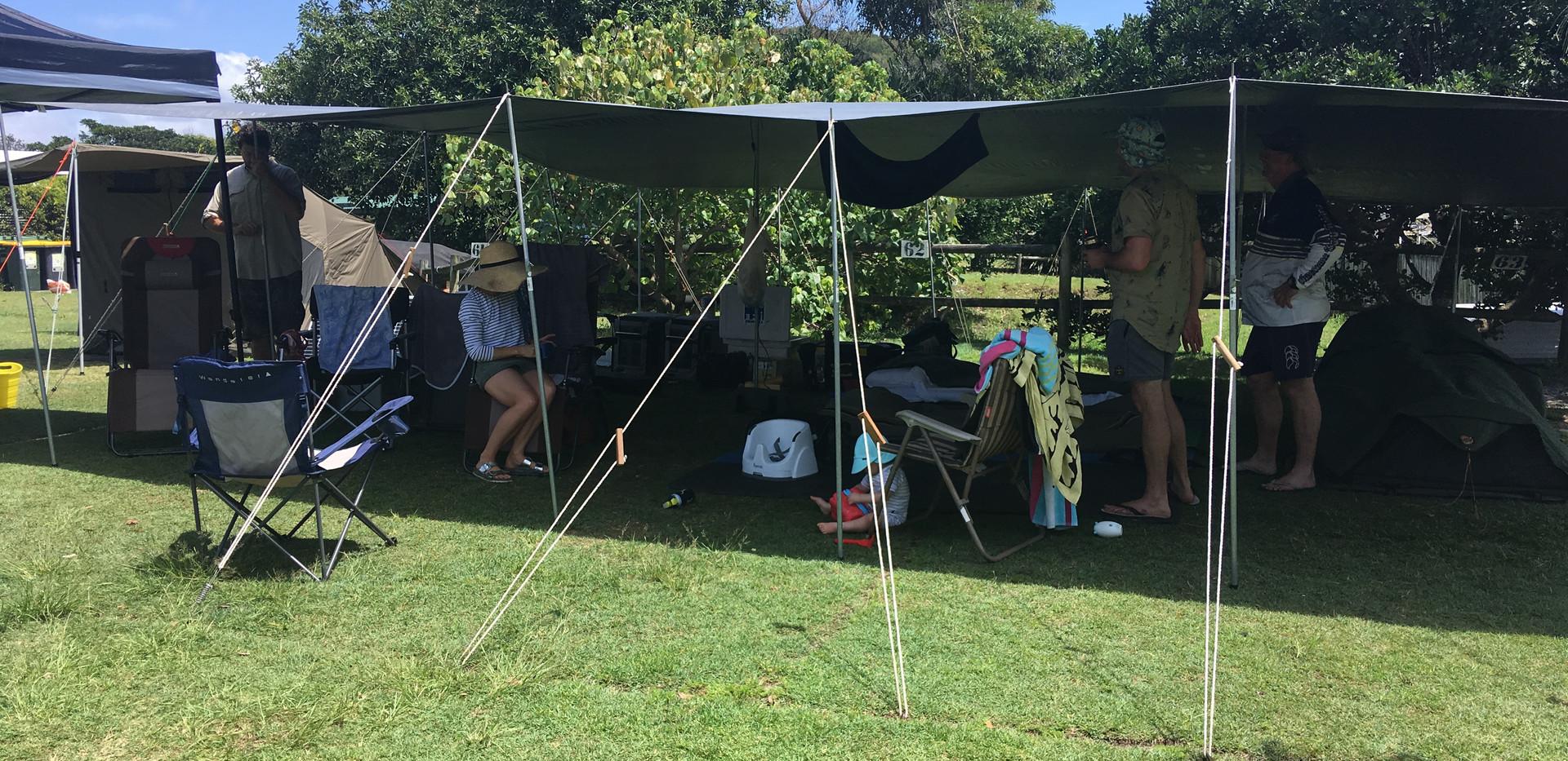 Camping in Ballina