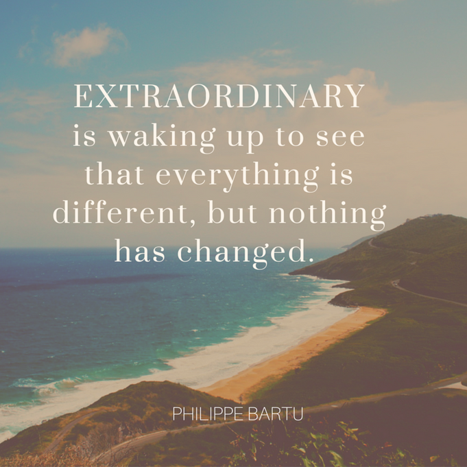 WANT TO BE EXTRAORDINARY?       READ THIS.