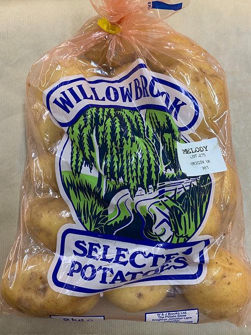 Potatoes Washed 2kg
