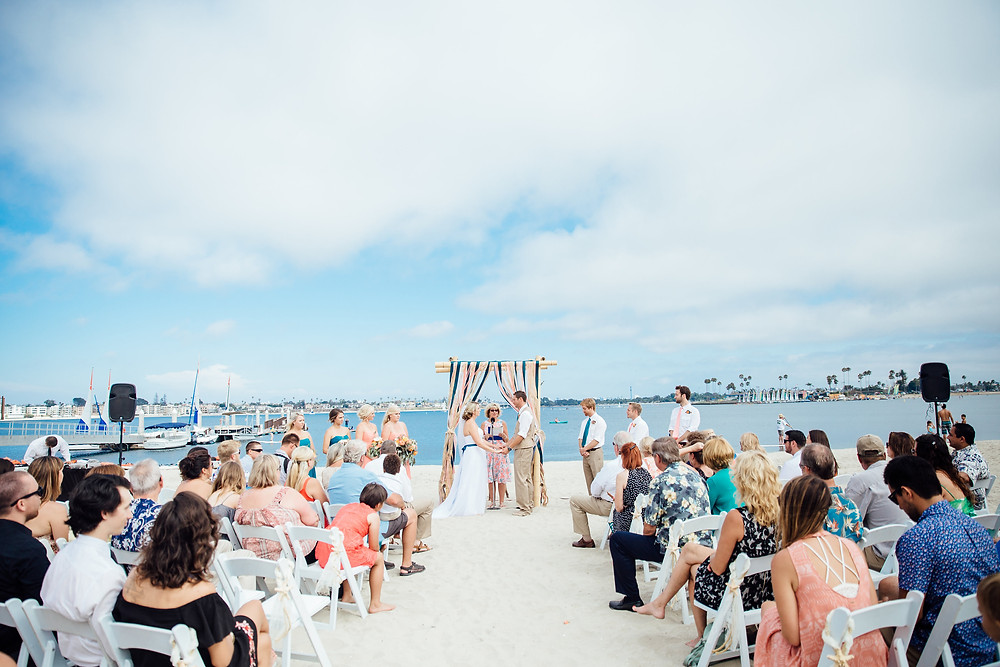 Beach Wedding at Catamaran Resort Hotel