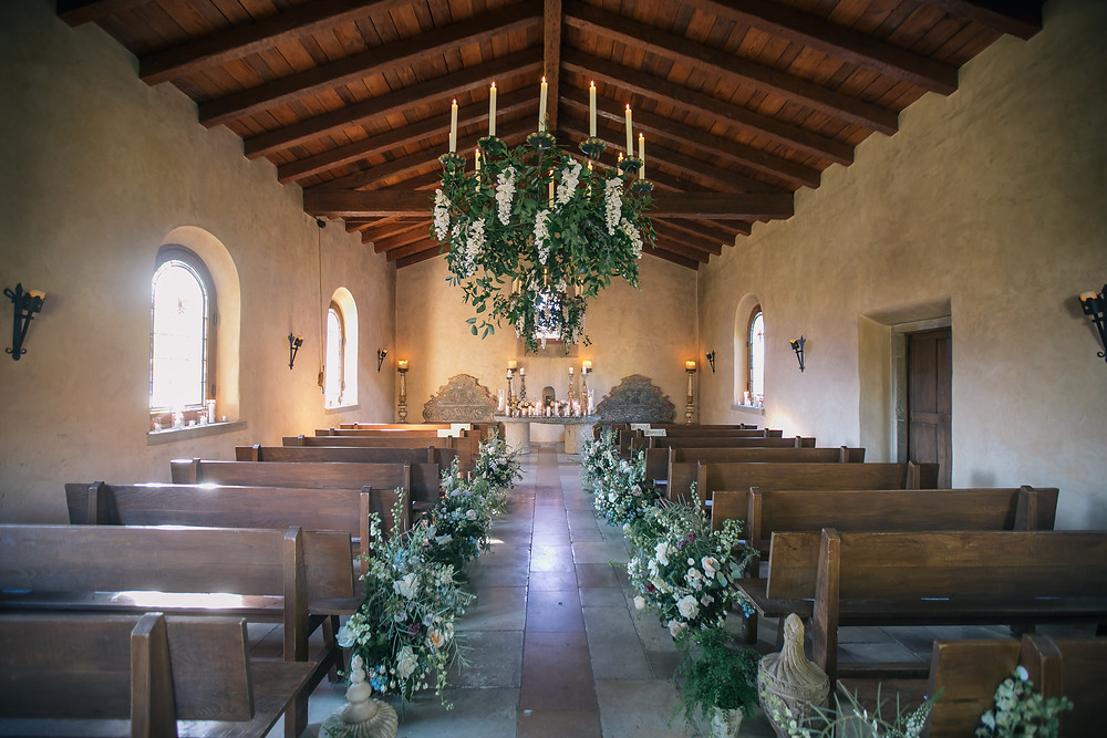 Inside Chapel Cal A Vie Spa Wedding