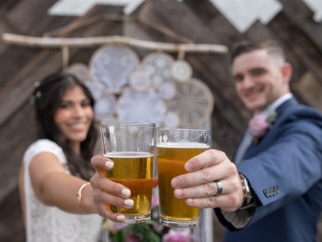 The Wood Shed Wedding at Booze Brothers Brewery in Vista