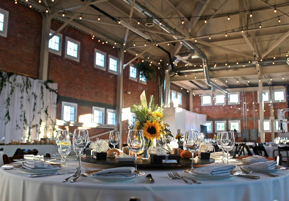 Brick Wedding Reception San Diego