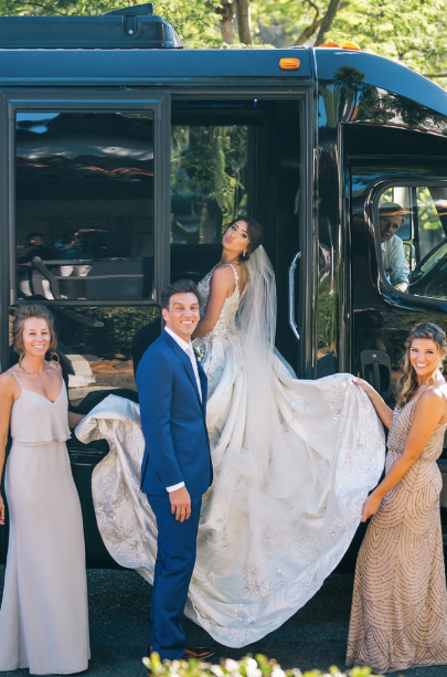 party bus wedding san diego