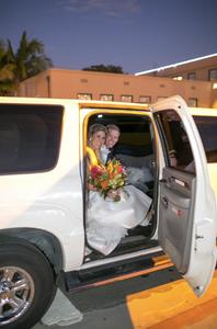 rent limousine for wedding san diego