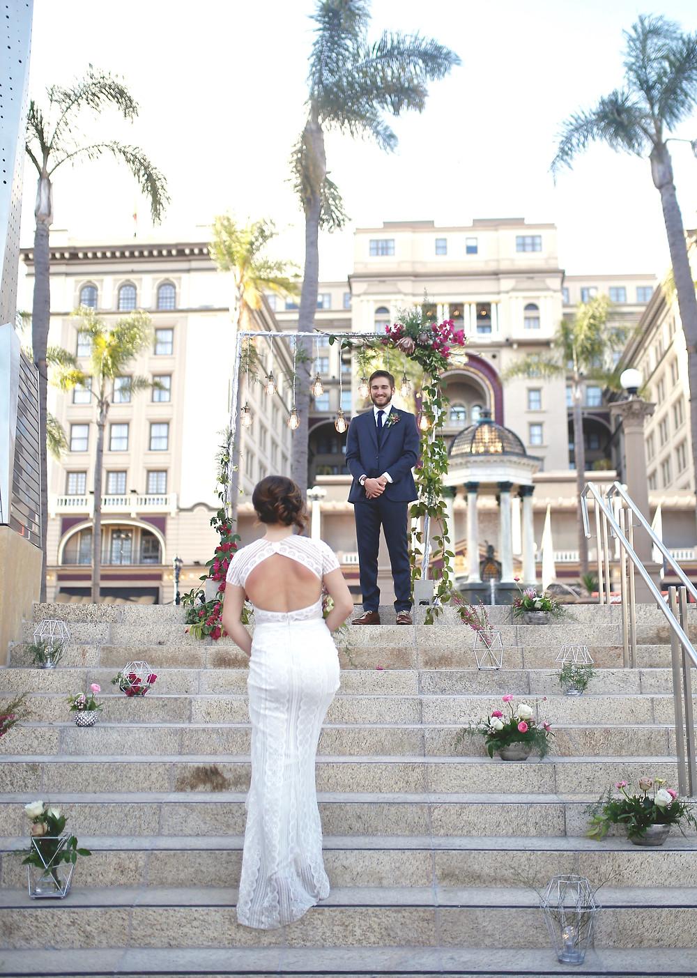 US Grant Hotel Wedding San Diego