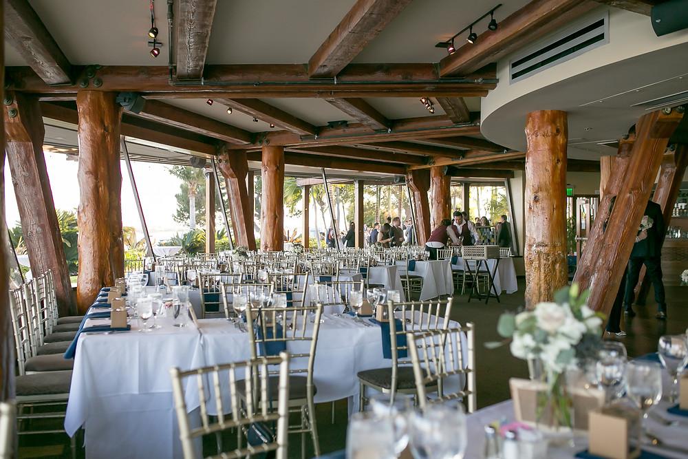 Wedding reception at Bali Hai