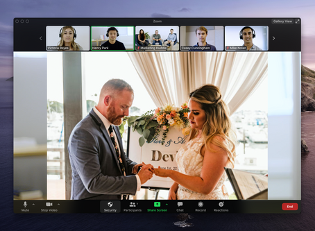 COVID 19: How to Live-Stream Your Wedding To The Guests That Could Not Make It.