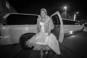 bride limo san diego wedding