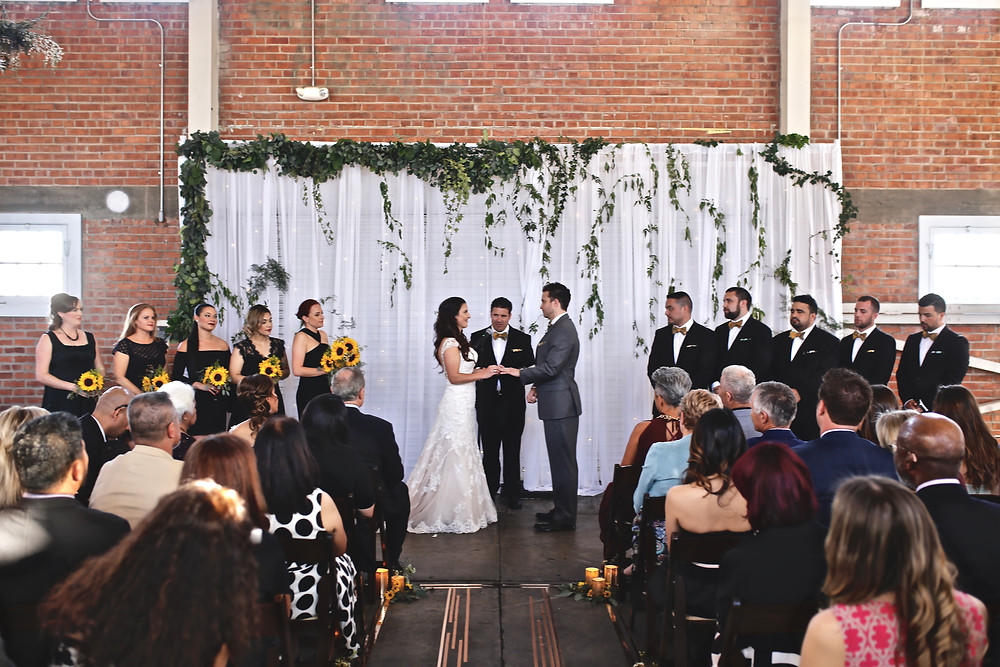 Brick Wedding Ceremony
