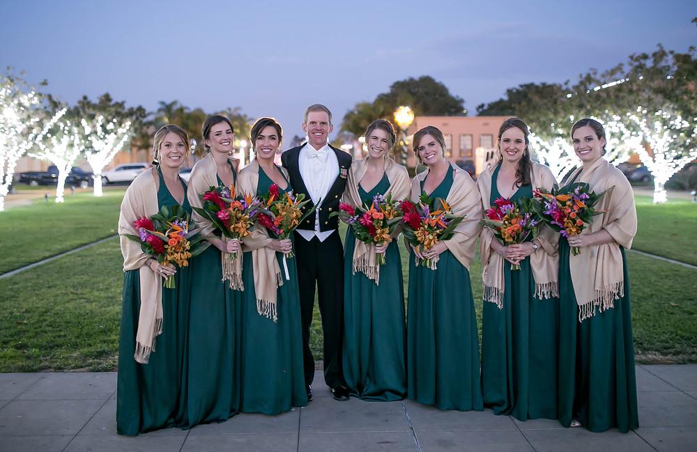 planning a winter wedding in San Diego