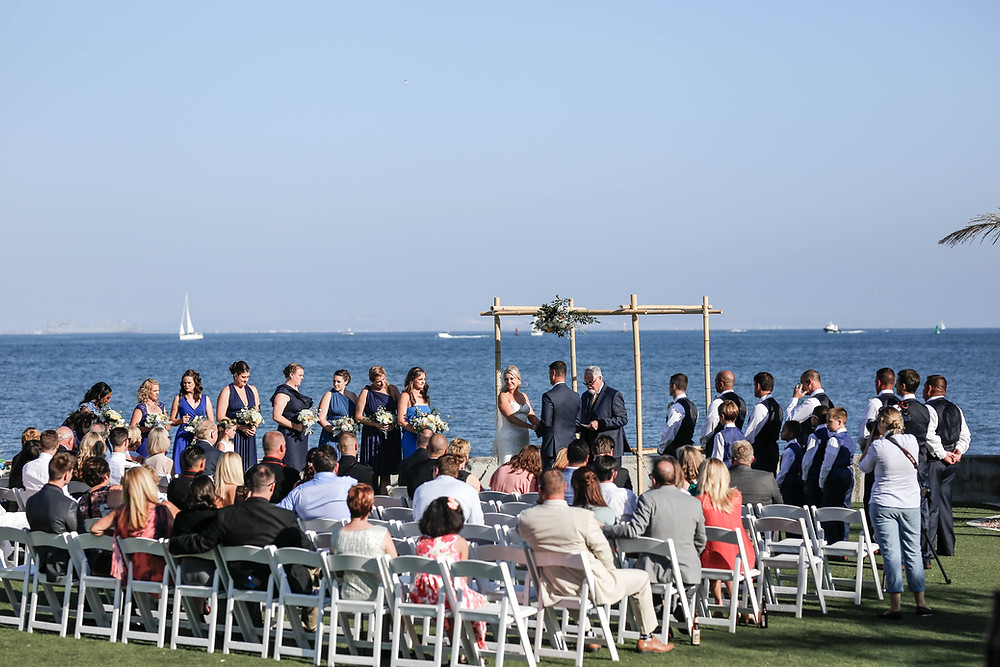 OceanView Room Wedding San Diego