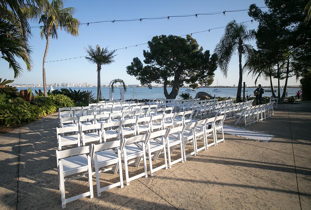 Ceremony set up Bali Hai Wedding