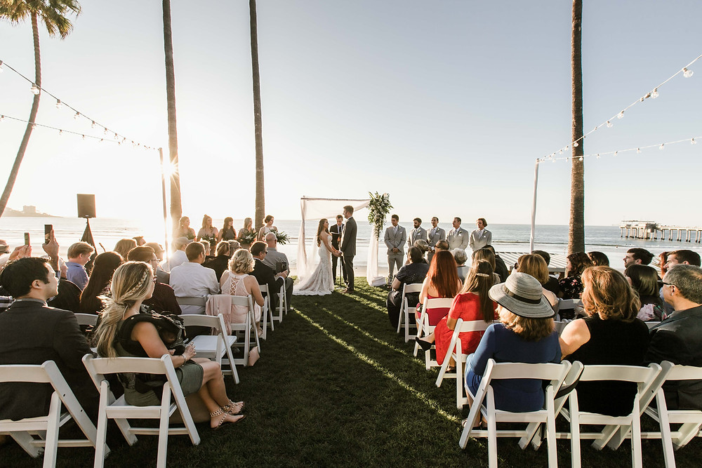 Scripps Seaside Forum Wedding San Diego